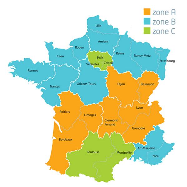 Vacanze scolastiche Francia 2021